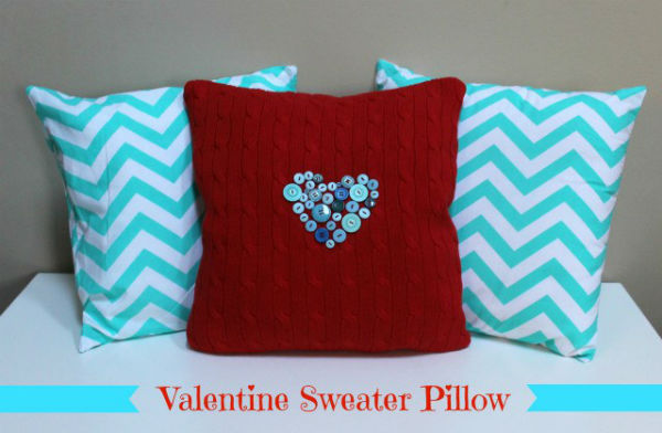 Valentine Craft Throw Pillows
