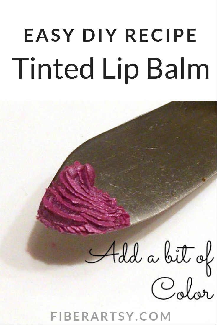 Easy DIY Beauty Recipe for Making Tinted Lip Balm