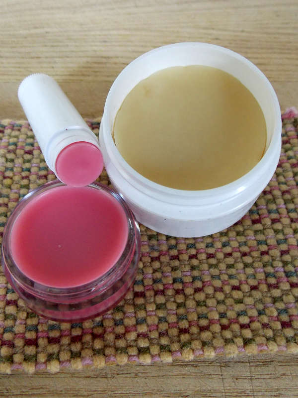Homemade Lotion Bar and Lip Balm Recipe
