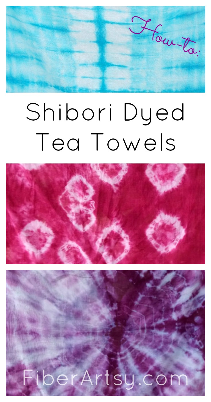 Shibori dyeing. Learn the art of Shibori with this fabric dyeing tutorial