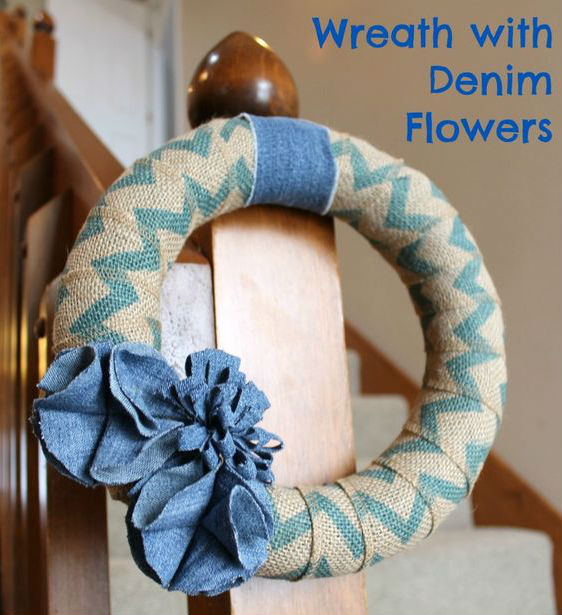 DIY Summer Wreaths by FiberArtsy.com
