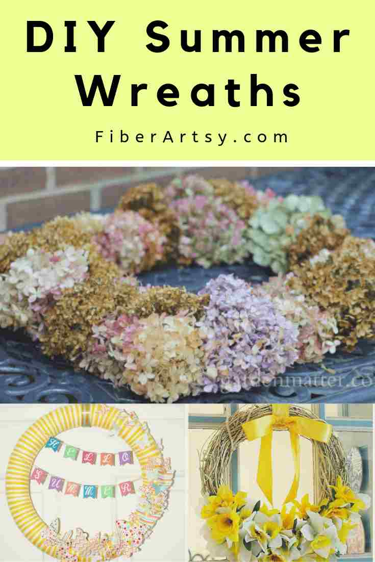 DIY Summer Wreath Ideas