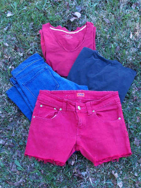 Decorate Fabric and Jeans with Bleach Pen