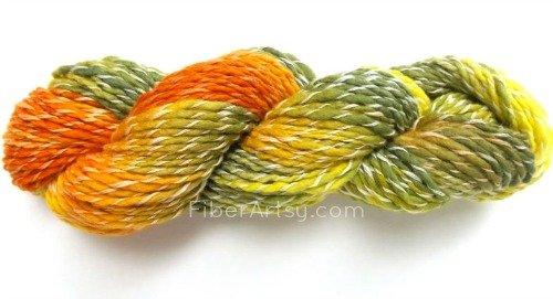 Merino Wool and Nylon Fiber Hand Dyed Yarn