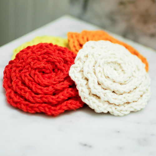 Face Scrubbies crochet