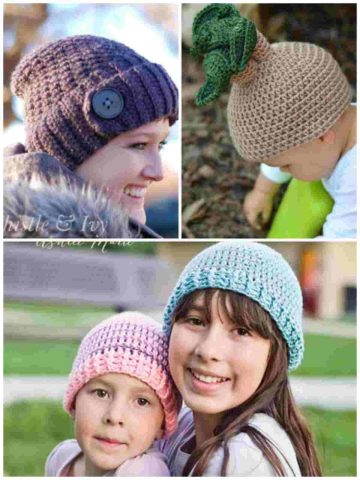 Crochet Patterns for Hats and Beanies