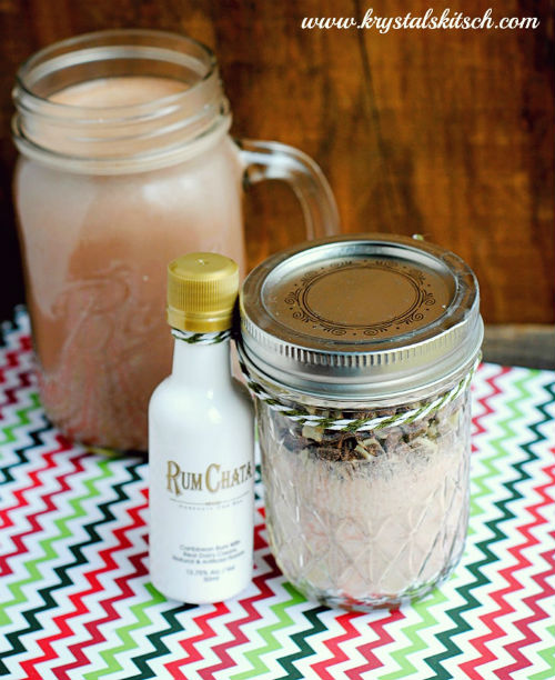 Rum Chata Hot Cocoa Mix Gift in a Jar