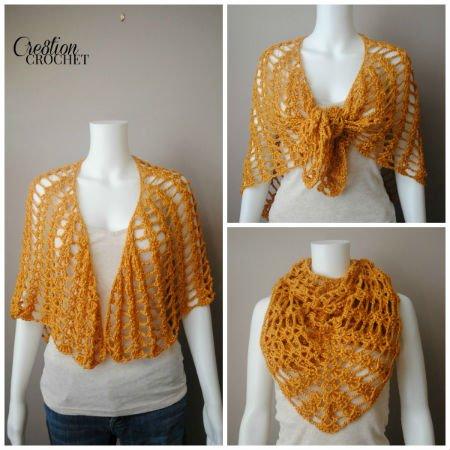Shawl Pattern Crochet, FiberArtsy.com