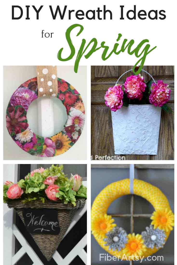 Creative DIY Ideas for Spring Wreaths