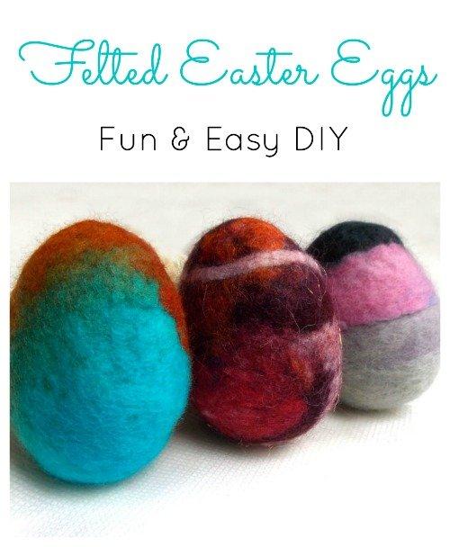 Fun, colorful Easter Eggs