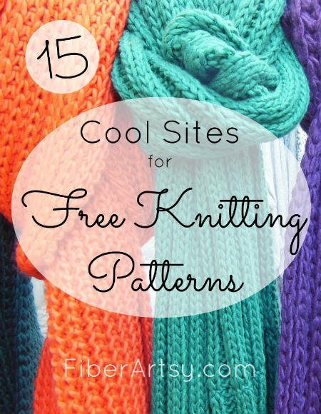 Free Knitting Patterns, FiberArtsy.com