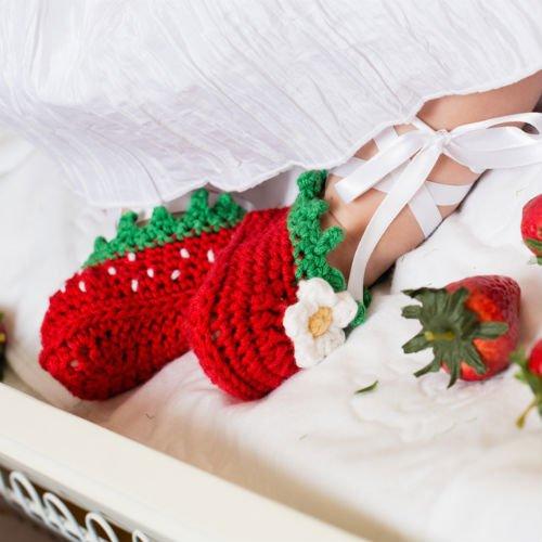 Baby Crochet Slippers Pattern