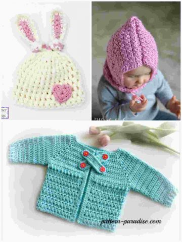 Baby Patterns for Crochet and Knitting