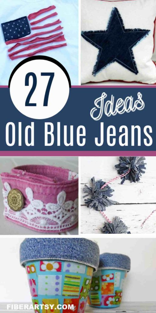 Denim Craft Ideas and Projects
