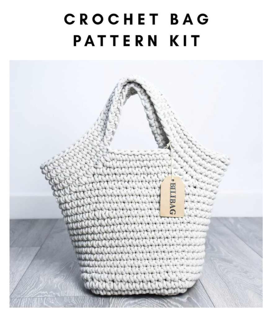 Crochet Bag Pattern Kit