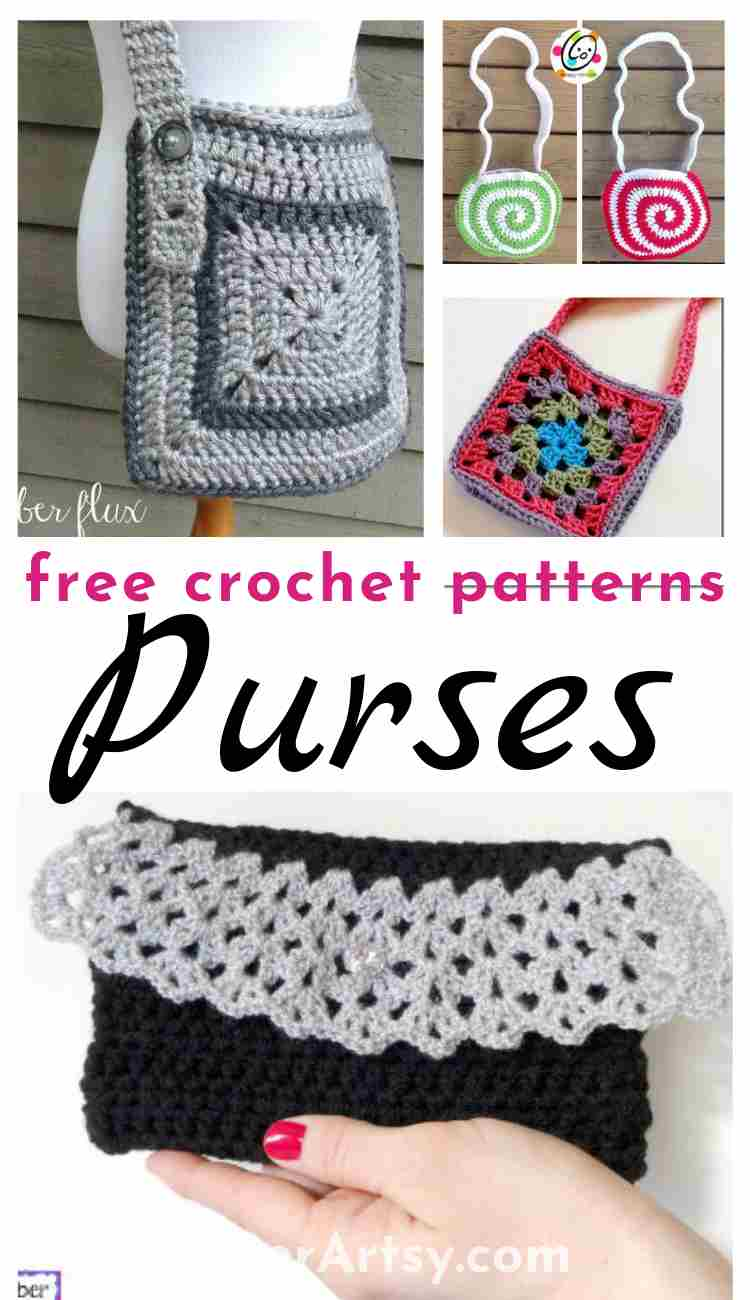 Free Crochet Patterns for Purses, Totes and Evening Bags