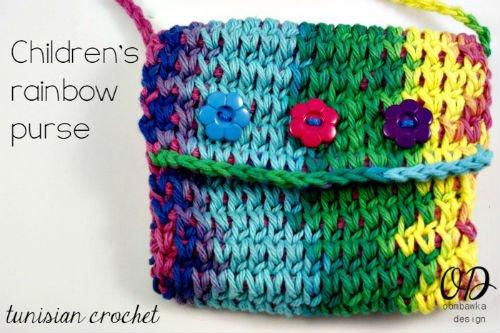 Crochet purse pattern for children
