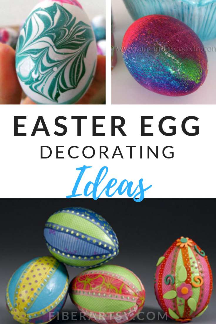 15 Easter Egg Decorating Ideas for Adults and Children