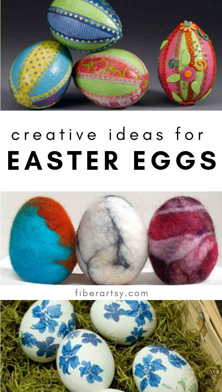 Clever ideas for Dyeing and Decorating Easter Eggs