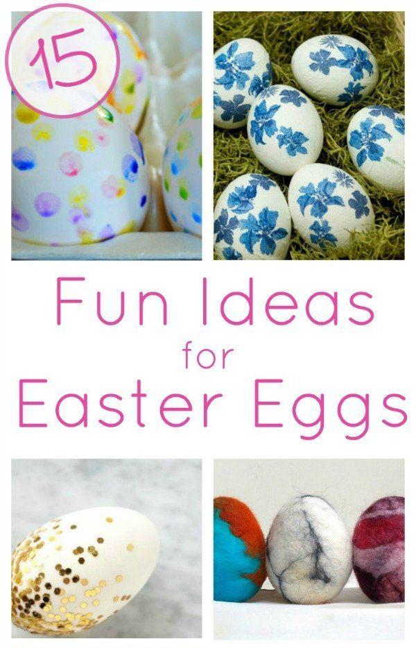 Easter Egg Decorating Ideas for Adults and Kids