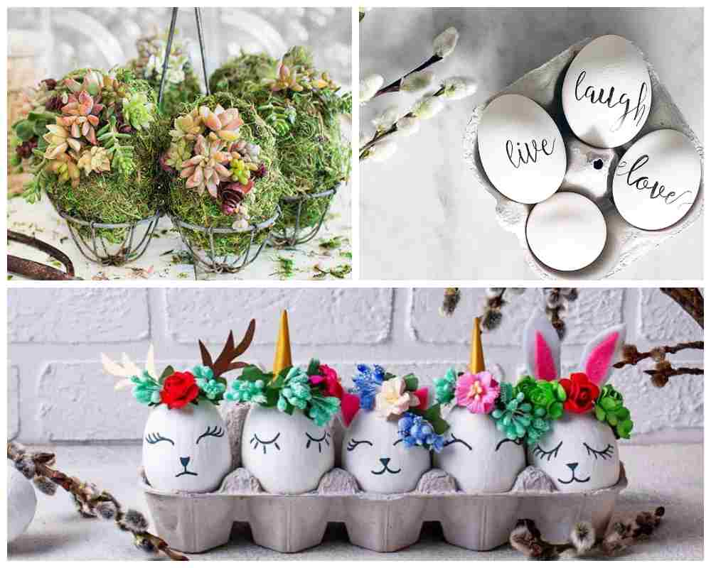Craft Ideas for Easter Egg Decorating