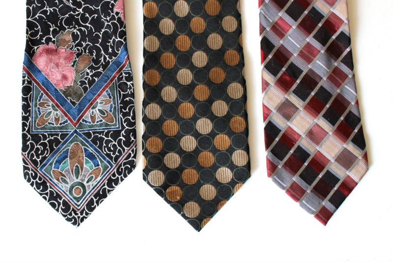 Silk Ties for dying Easter Eggs