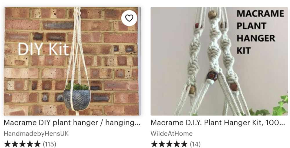 Macrame Plant Hanger Kits