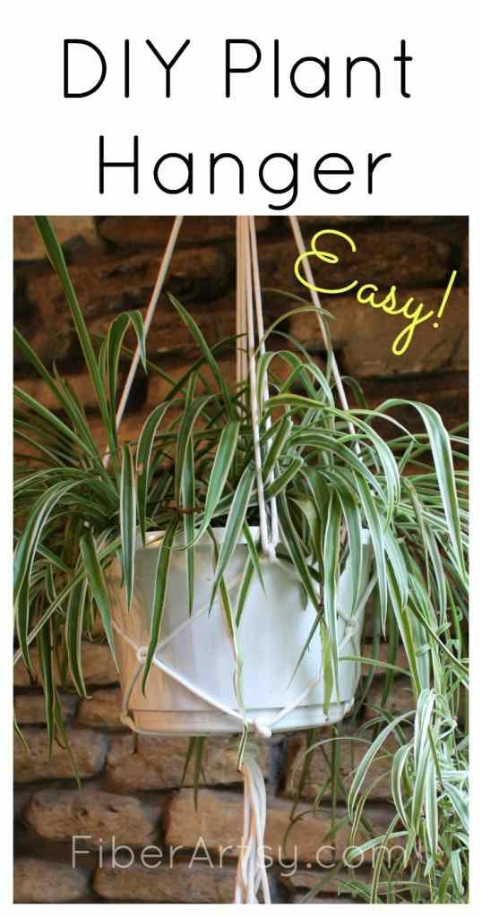 Easy DIY Macrame Plant Hanger