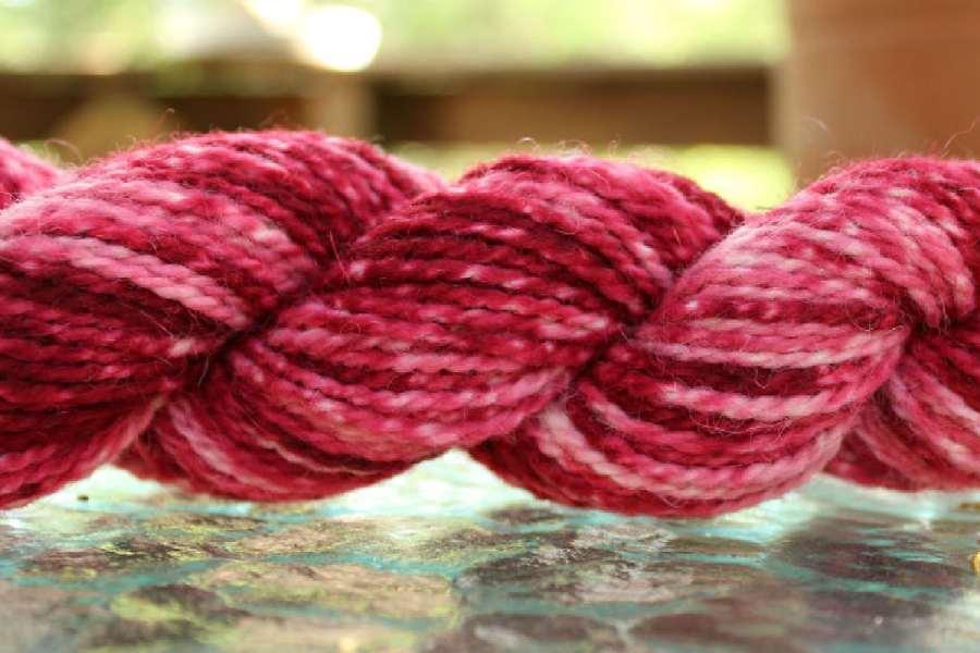 how to dye wool yarn - tonal or semi solid