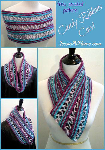 Stretched Crochet Cowl Pattern