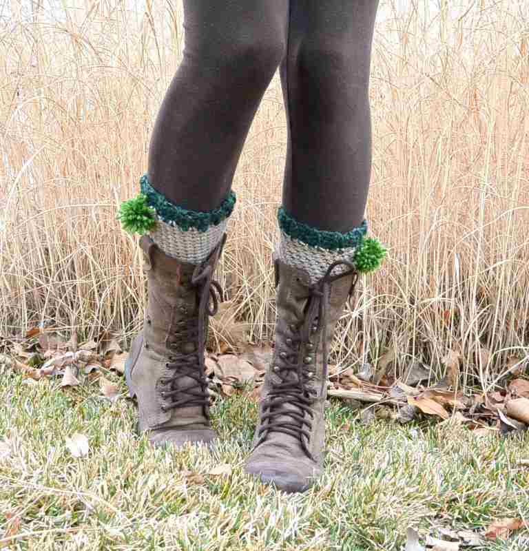 Free Crochet Boot Cuffs or Leg Warmers