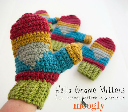 Hello Gnome Mittens by Moogly