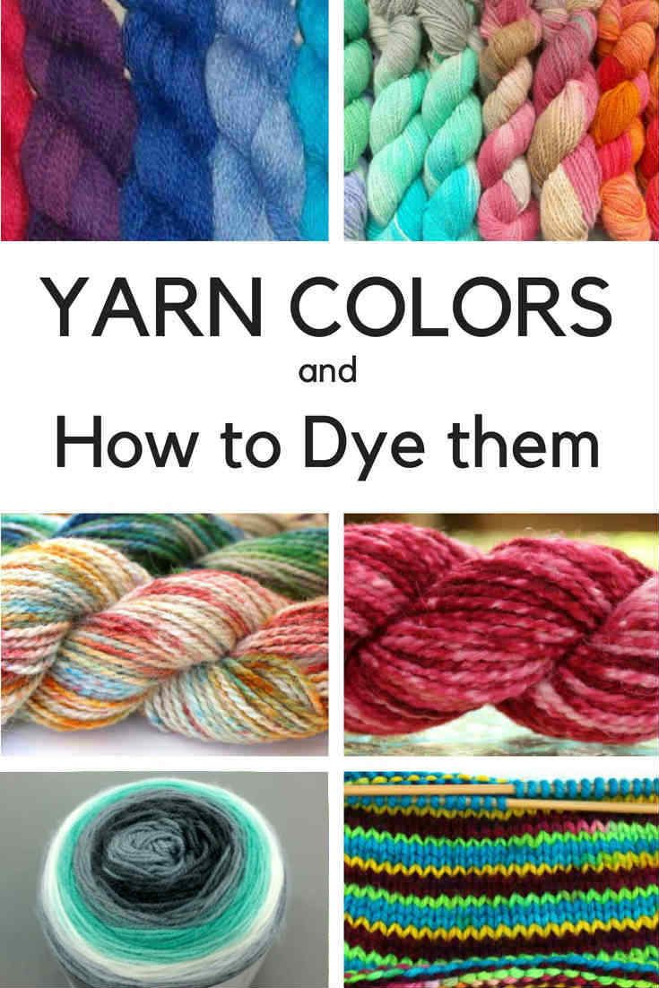 Yarn Color Patterns and How to Dye them with these Yarn Dyeing Techniques