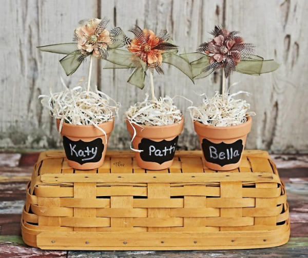 DIY Thanksgiving Table Place Markers