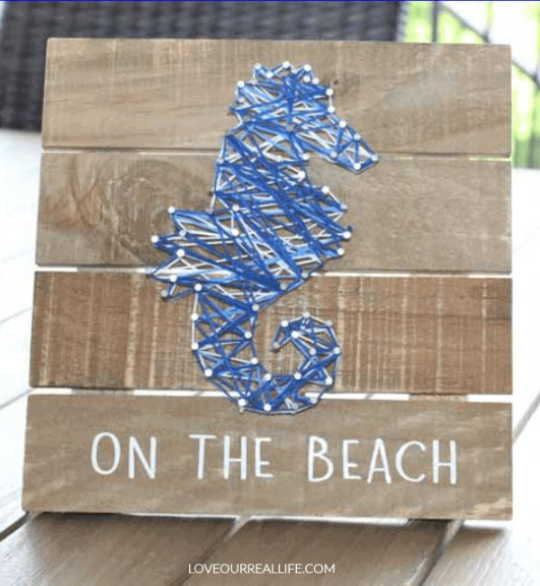 String Art Wallhanging Gift Idea