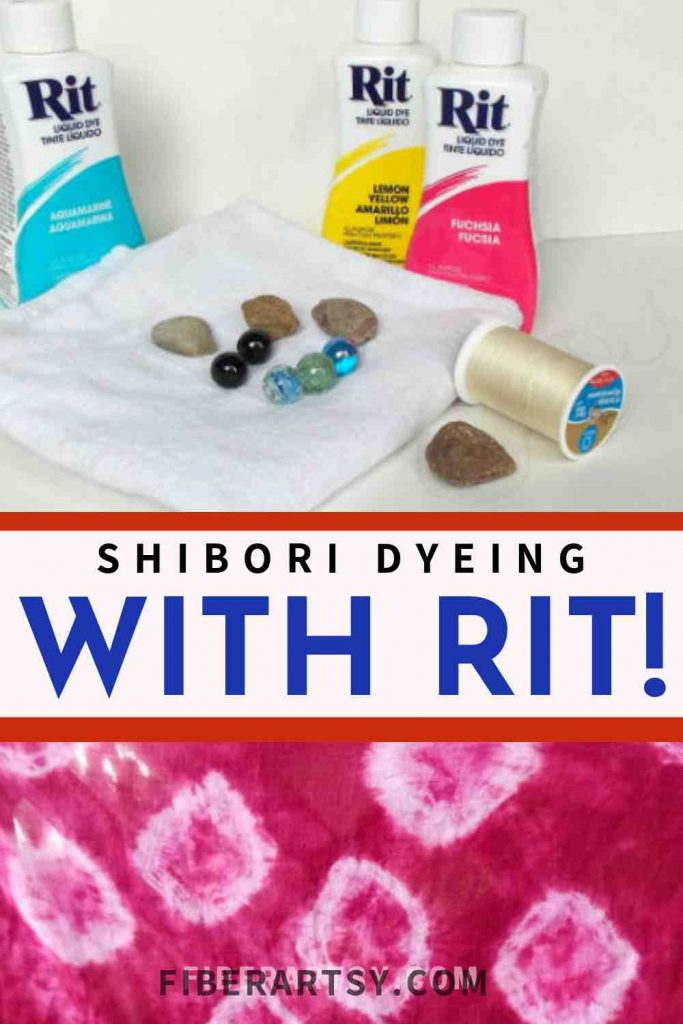 Dyeing Fabric with RIT Dyes