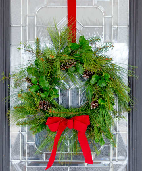 Wreath Fresh Greenery
