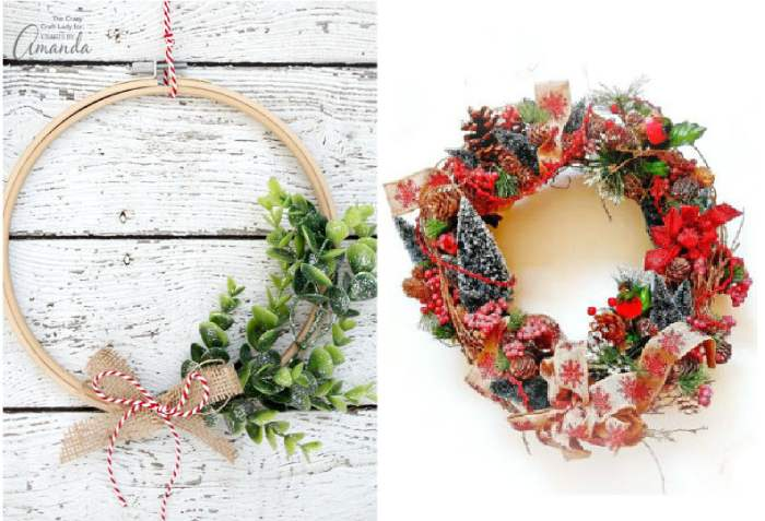DIY Christmas Wreath Ideas for your Holiday Home