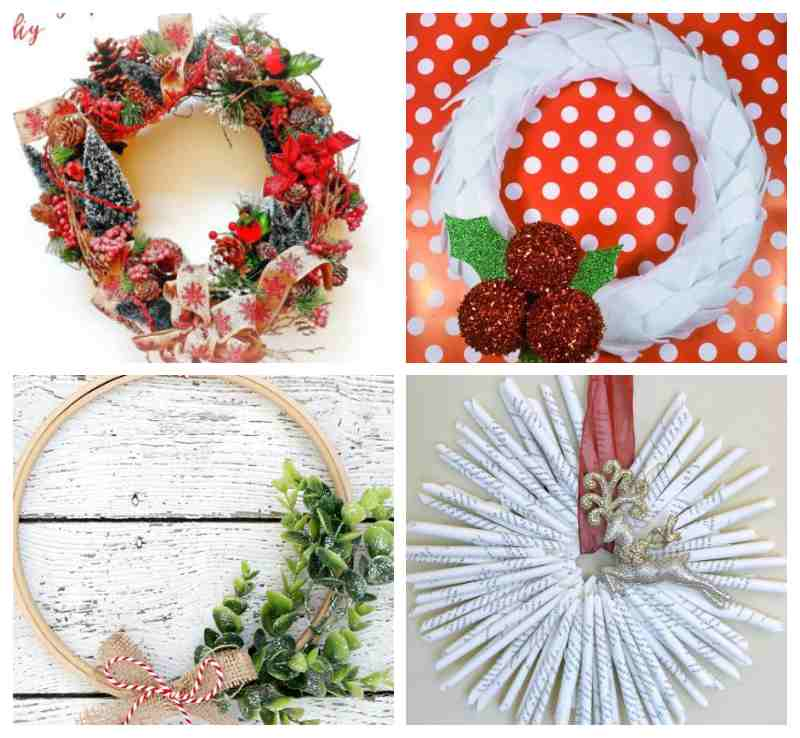 DIY Christmas Wreath Ideas 1