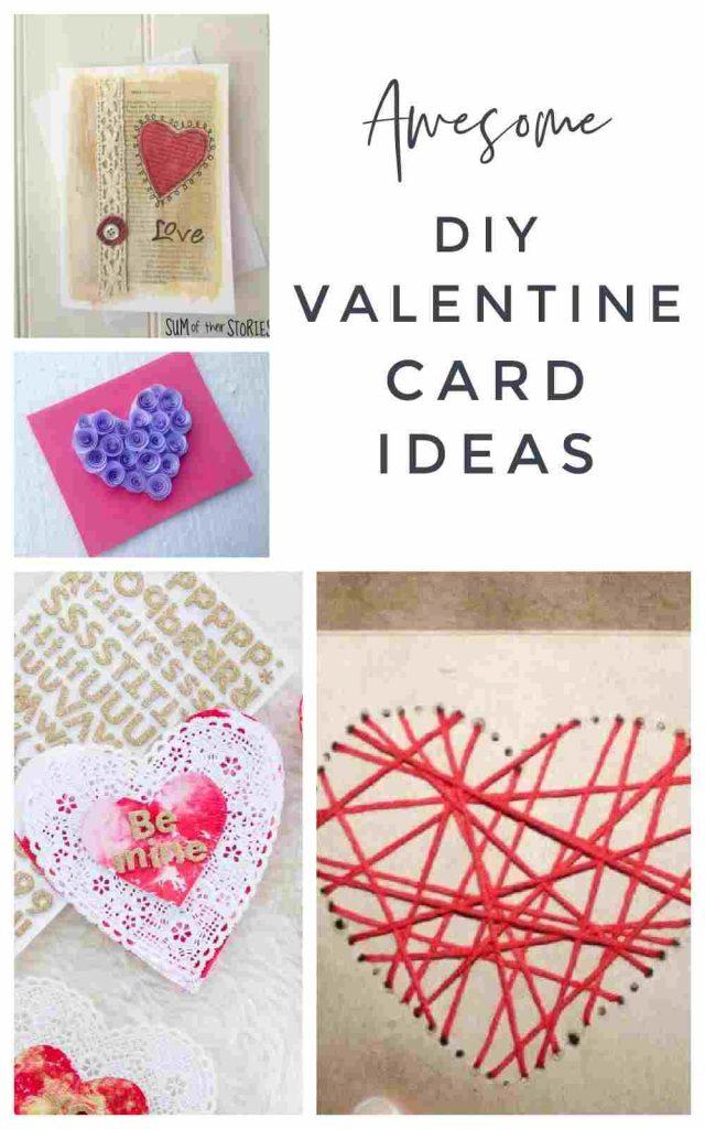Handmade Valentine's Day Card Ideas