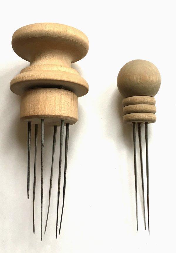 Special felt needles