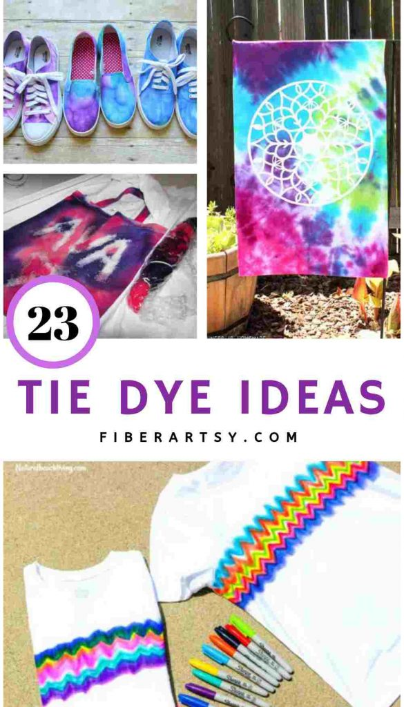 Tie Dye Ideas and Projects
