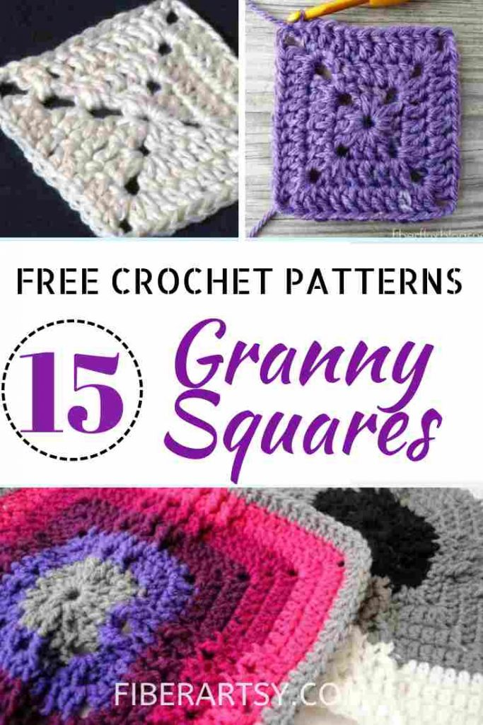 Granny Square Crochet Patterns