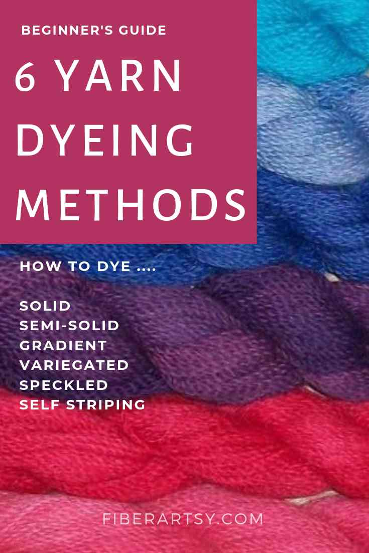 Beginner's Guide to Yarn Dyeing Techniques