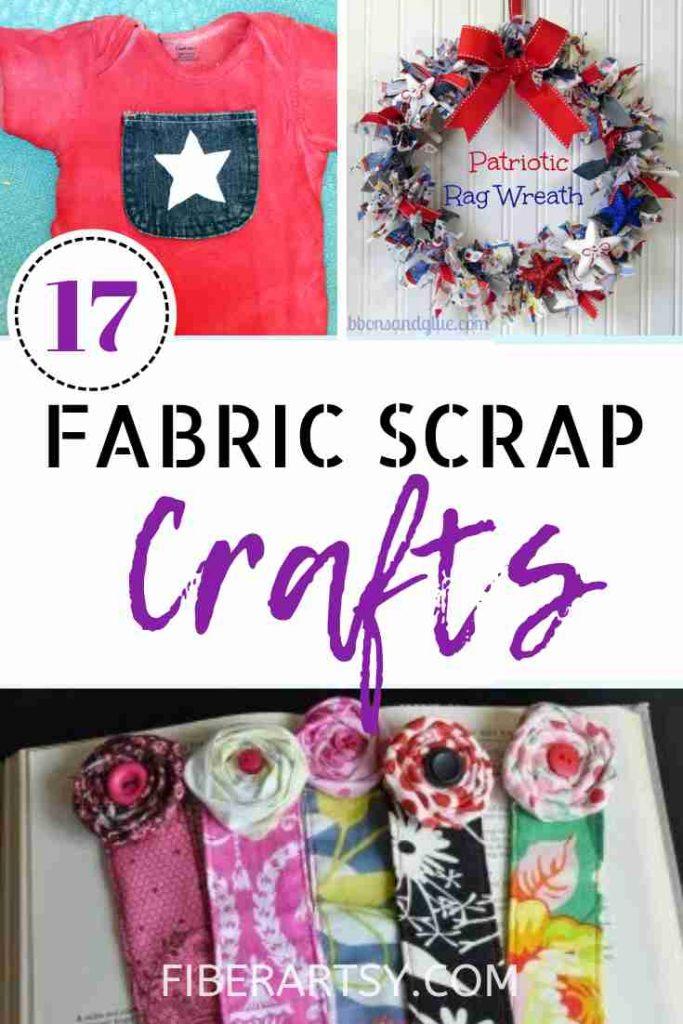Scrap Fabric Craft Ideas