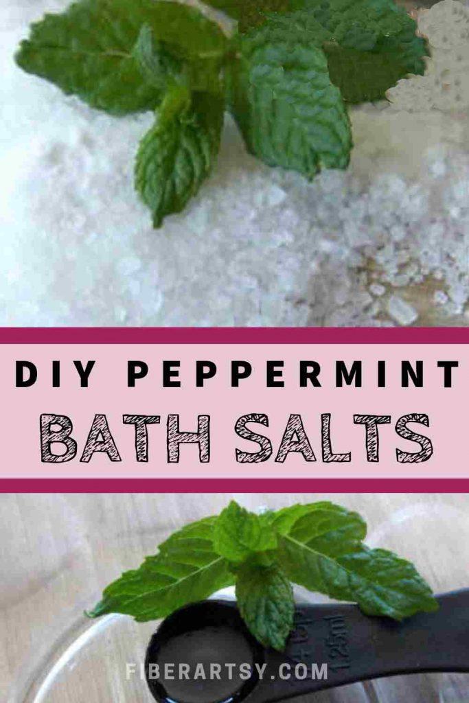 DIY Peppermint Bath Salts Recipe