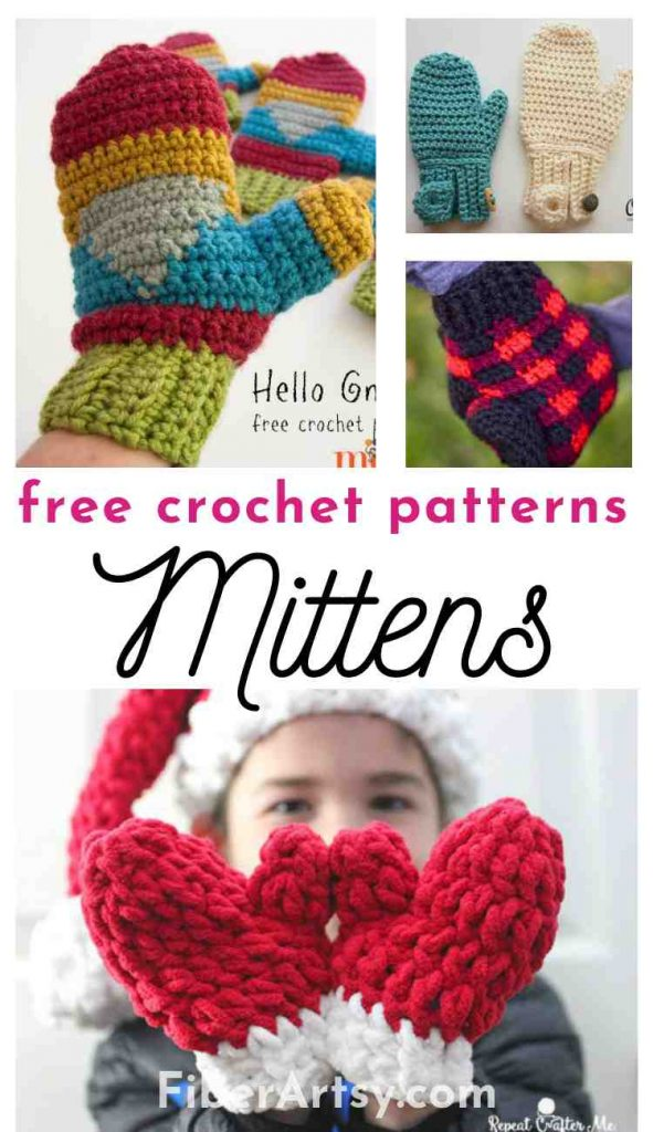 Crochet Patterns for Mittens and Gloves