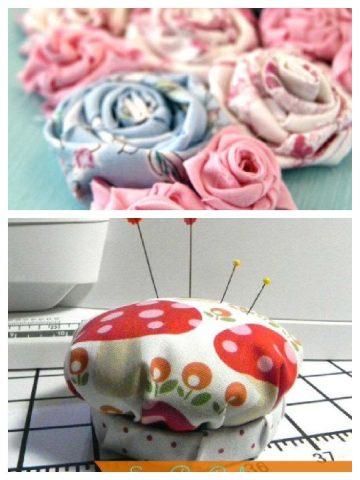 Fabric scrap ideas and crafts