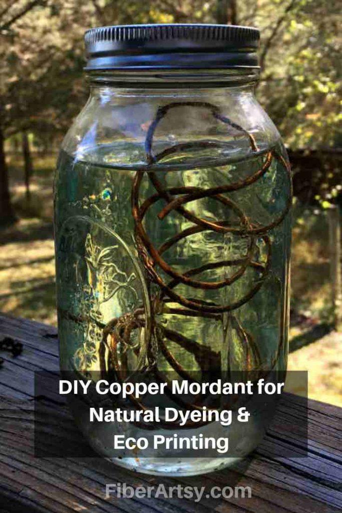 DIY Recipe for a Copper Mordant or Copper Modifier
