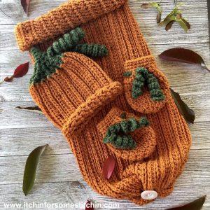 Free Crochet Pattern - Newborn Baby Sleep Set